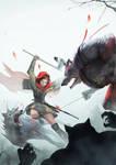 Akaneiro Demon Hunters comic Cover #3