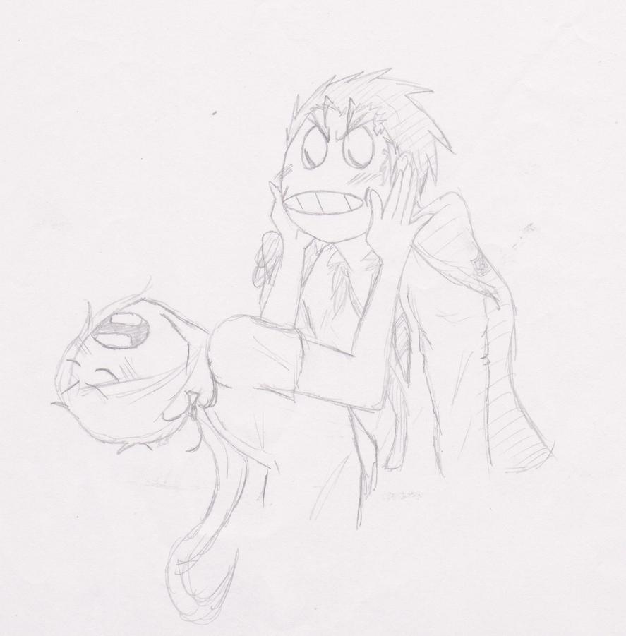 Draw Meme - Xanxus and I by Rizu-arts