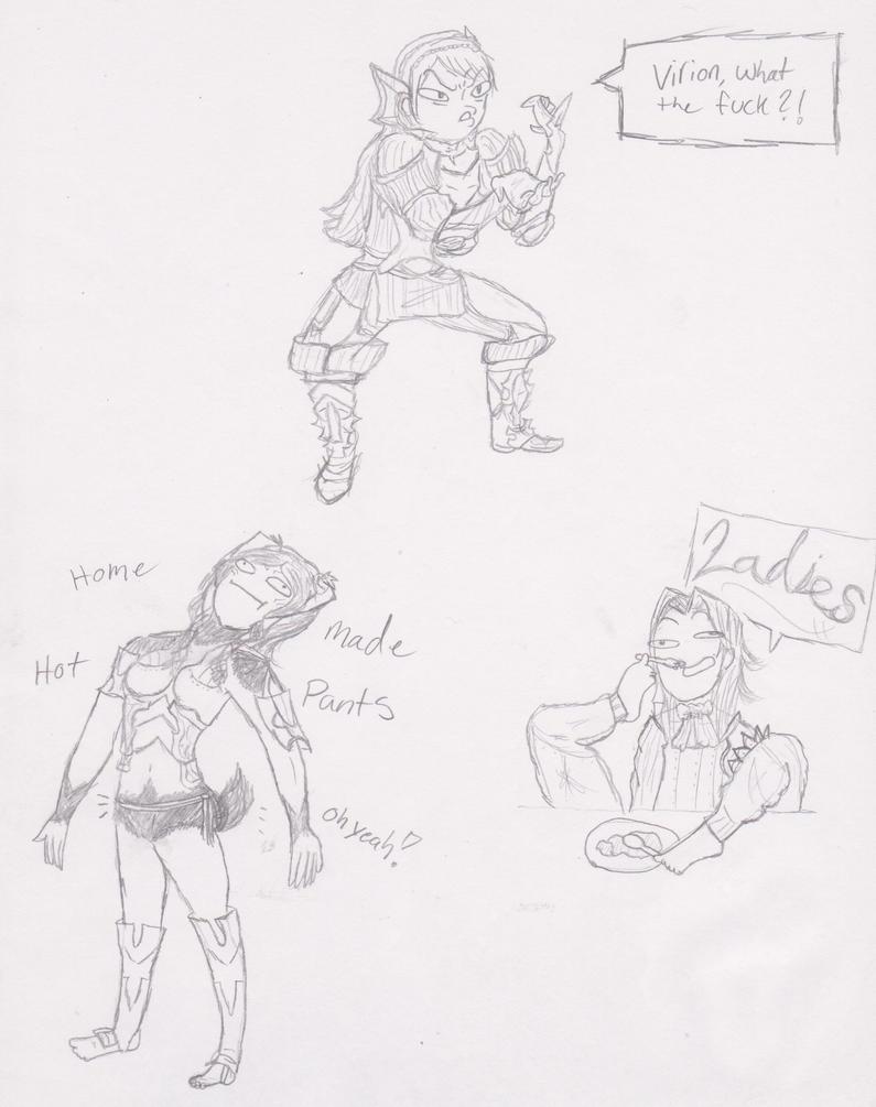 FEA: Draw Meme2 by Rizu-arts