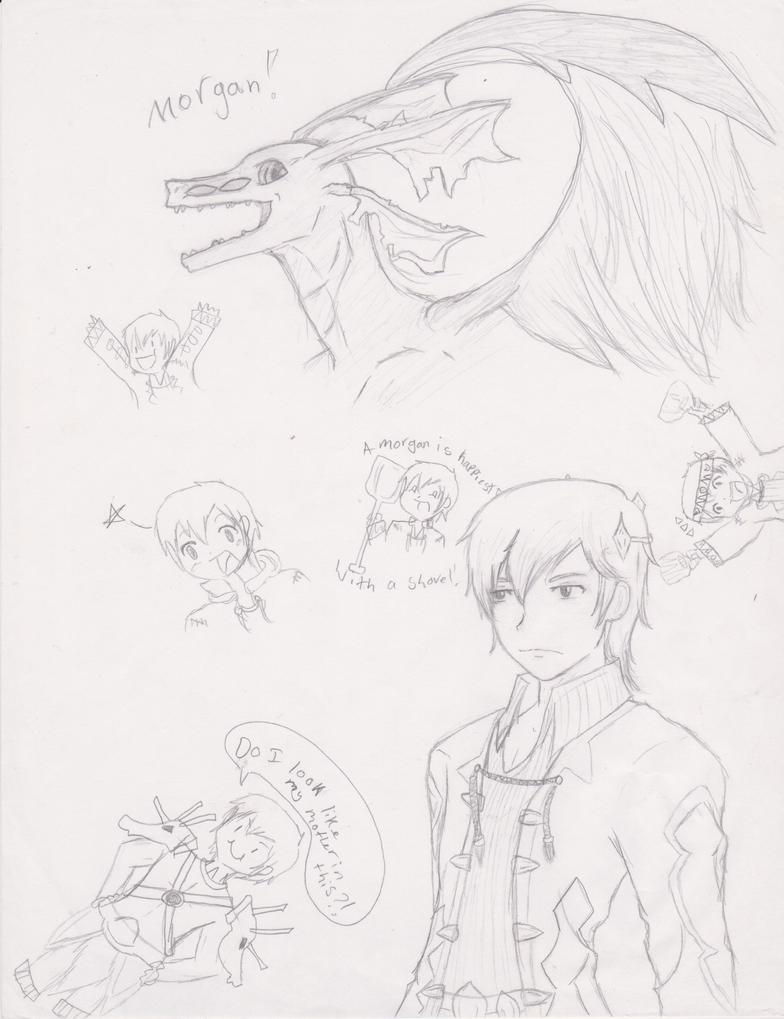 More Morgans by Rizu-arts