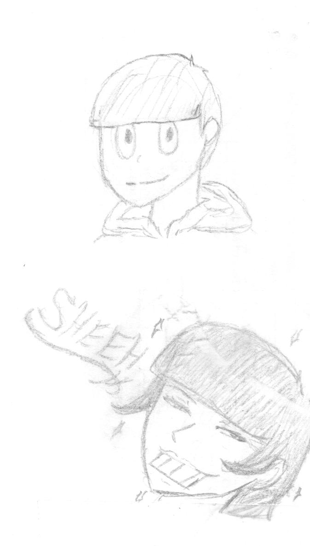 Osomatsu-san doodle by Rizu-arts