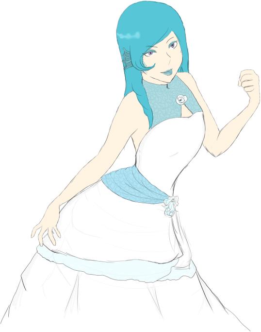 Wedding!Siren by Rizu-arts