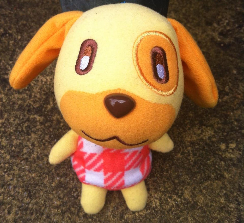 Animal crossing Golide plush by thebabby4