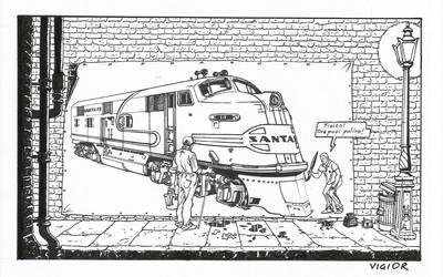 Surreal Train