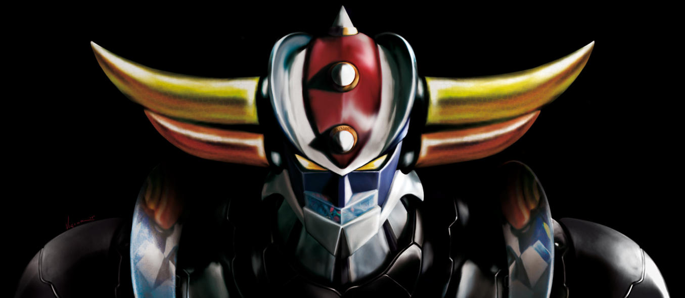 Grendizer's windscreen! by Vigior