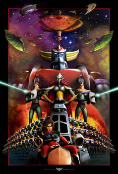 Ufo Robot Grendizer: Enemies!