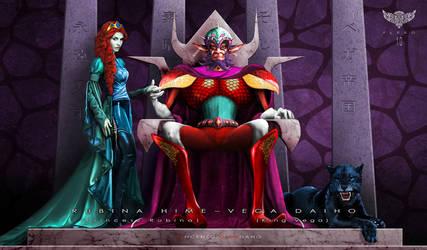 King Vega and Princess Rubina