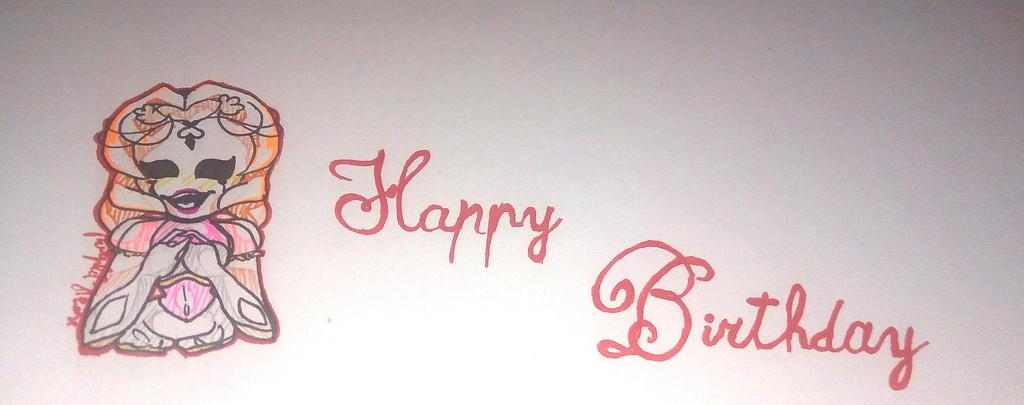 Happy birthday ! by purplelightrose