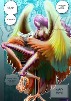 Harpy Mone Fancy Colo