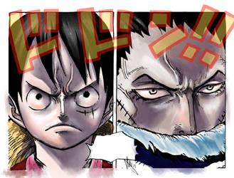 Luffy Vs Katakuri -colo
