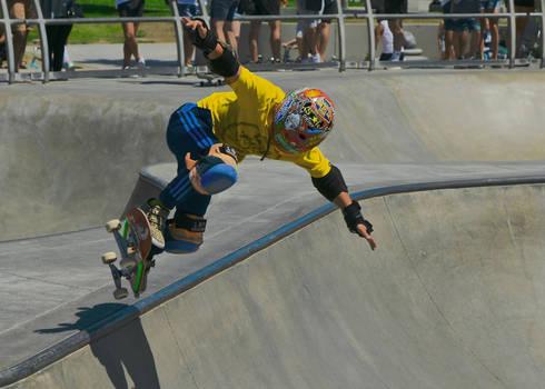 Twisting Above the Edge #1