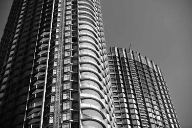 Under Construction in Black and White