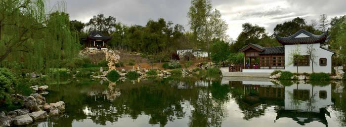 Panoramic Chinese Garden