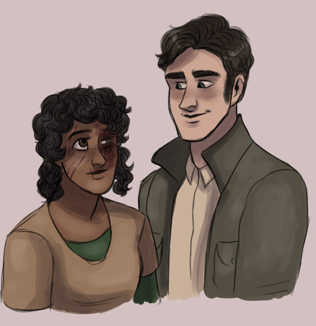 Miles and Elise by TheLuteces