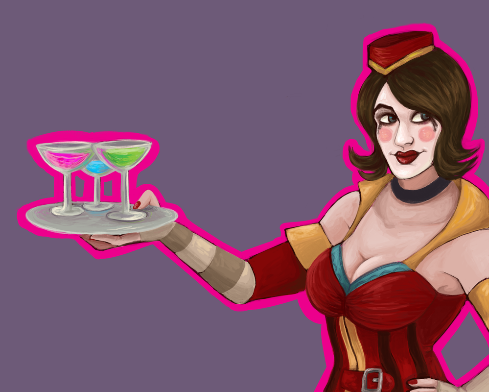 Moxxi!!! by TheLuteces