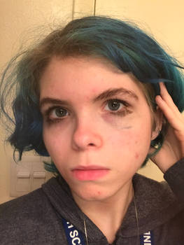 Ticci Toby eye makeup