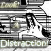Look, a distraction icon by Tsuki-no-Rakuen