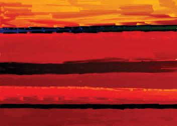 Desert Sunset by dplehati