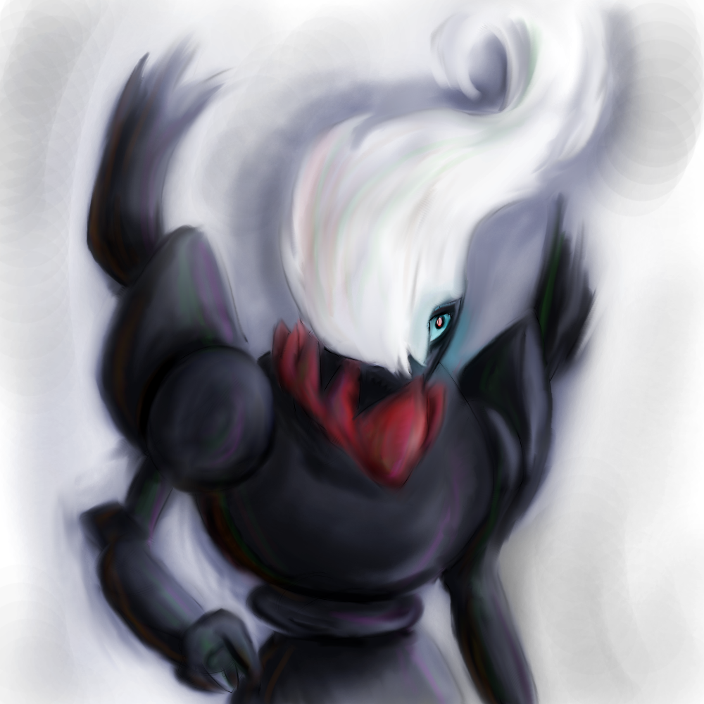 Darkrai Speed Painting by chopper481