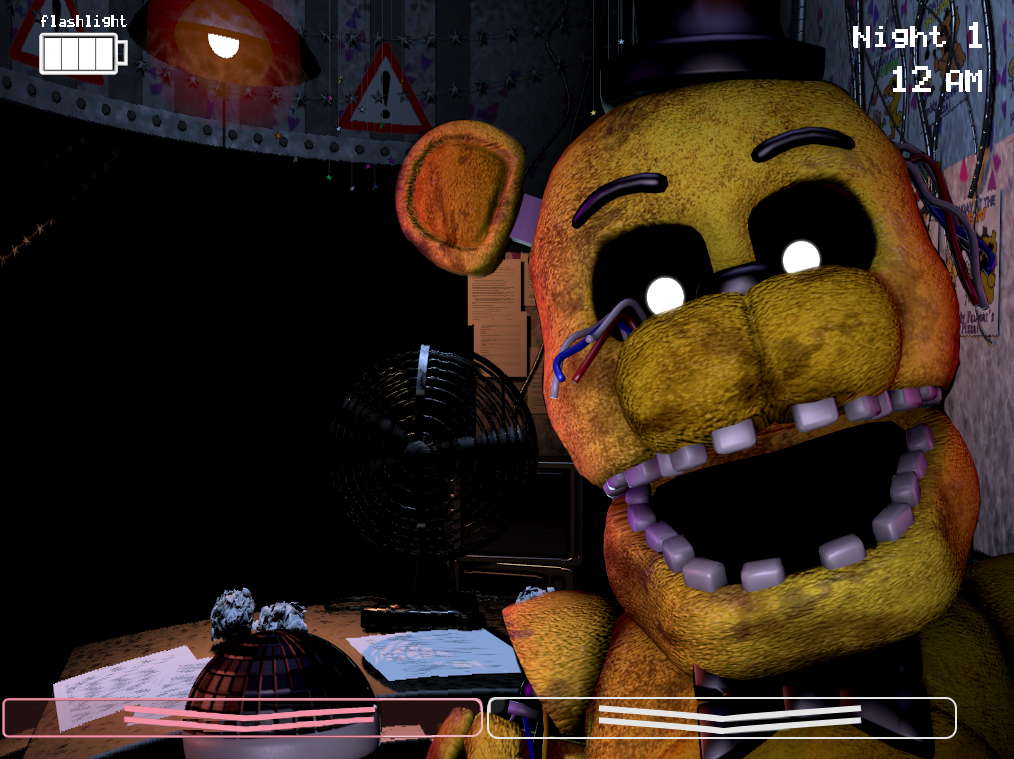 Fnaf 2 New Freddy Jumpscare | www.imgkid.com - The Image ...