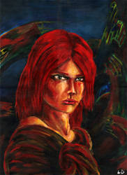 Nora Vyr (portrait)