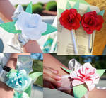 Origami Corsages and Boutonnieres