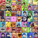 Super Smash Bros 4 Roster (SSB4)
