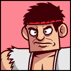 Ryu icon (SSB4) by Zerocakes