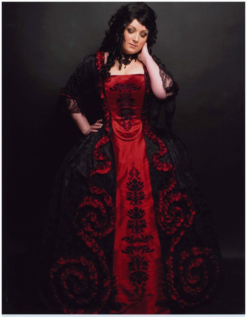 Masquerade Ball Gown by nightsneverland on DeviantArt