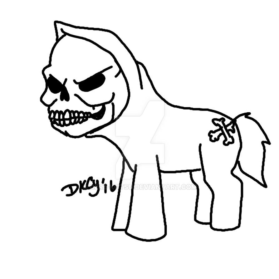 My Little Boney by Dere-kotsu