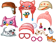 Hats And Accessorys by FantageTorii