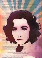 Elizabeth Taylor2 by abcartattack