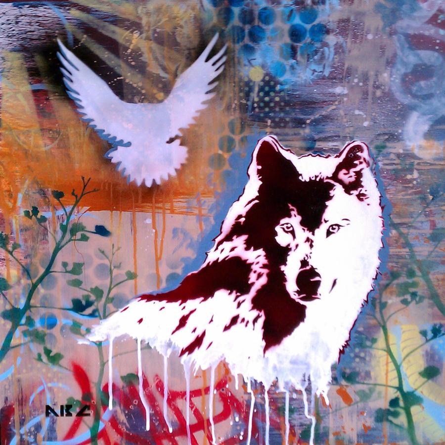 Wolf Watcher by abcartattack