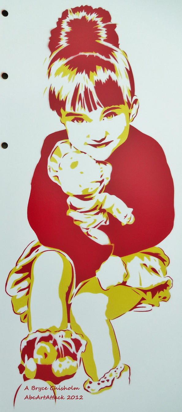 Penelope Stencil Commission 1 by abcartattack