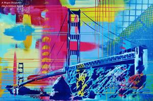Golden Gate by abcartattack