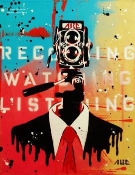The NSA Camera Man