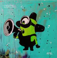 Minion Megaphone by abcartattack