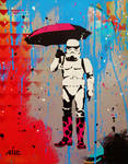 Stormtrooping in the Rain by abcartattack