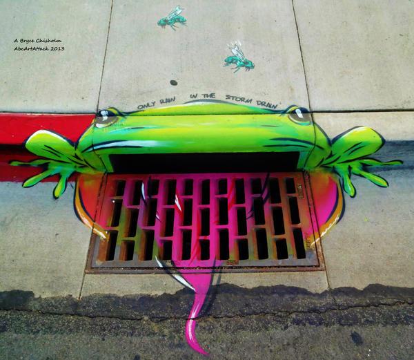 Storm Drain Frogger by abcartattack