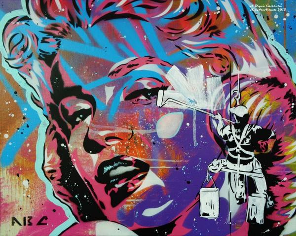 Buffing Marilyn by abcartattack