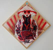 Rose Kimono Rays by abcartattack