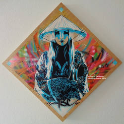 Rose Kimono Graff