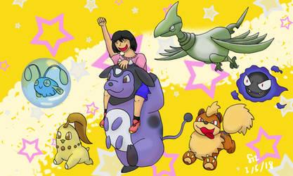 Pokemon Crystal: Shiny Team