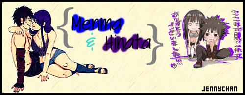 Menma y Hinata by JennyTorres