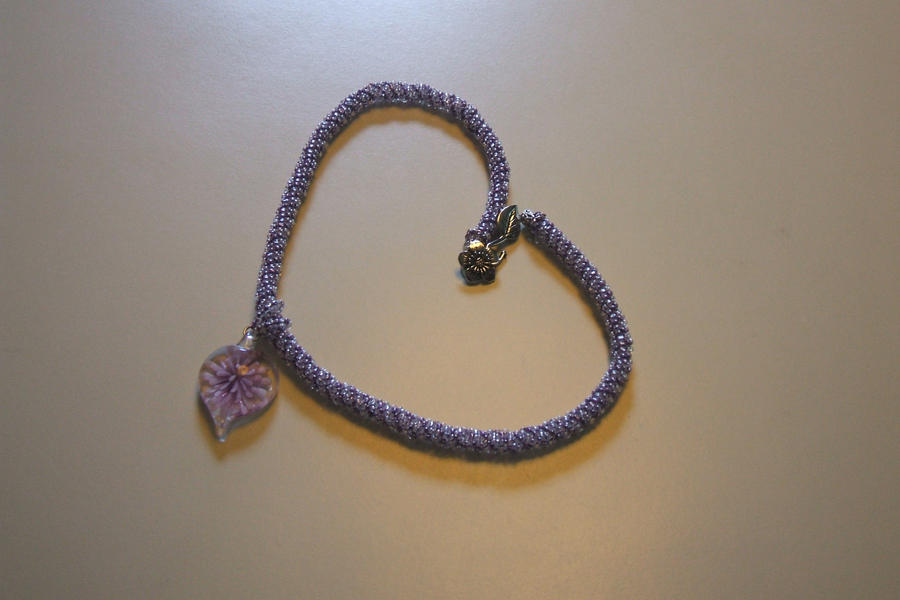 purple heart necklace by d2diamond on deviantart