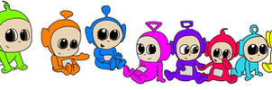 The tiddlytubbies