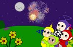 (Teletubbies) happy Fourth of July
