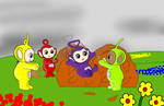 (Teletubbies) fall in Teletubbyland