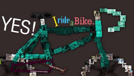 yes I ride a bike