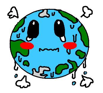 Earth: chibi by altairyuki